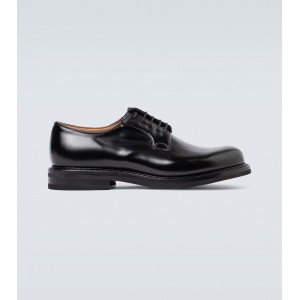 Church's Men's Shannon LW leather Derby shoes Going Out Cut Off outlet JVAXK