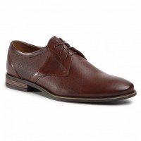 Men's Brown Leather, Textile Shoes SERGIO BARDI In Tall in new look in store NDMY0
