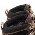 Men's Brown Textile Trekker Boots AKU In Tall Cut Off outlet 4N2SU