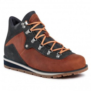 Men's Brown Textile Trekker Boots MERRELL Going Out for sale near me in store D33W2