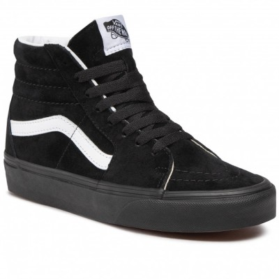 Men's Black Leatherette, Textile Trainers VANS 2021 Winter high quality shopping TT5ZO