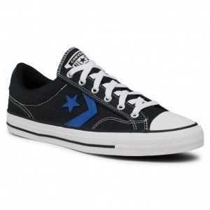 Men's Black Textile Sneakers CONVERSE For Work Cut Off in store V3QXR