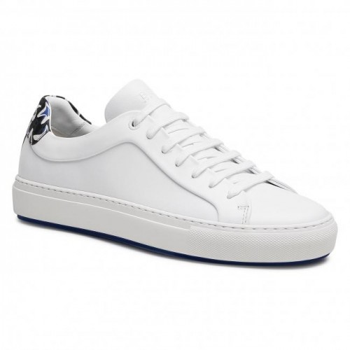Men's White Leather Snekaers Trainers BOSS In Tall 2021 Trends topshop YJ3VK