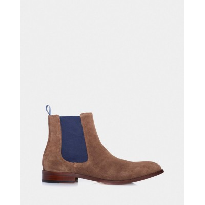 3 Wise Men Men's The Bowie Brown Suede 2021 Spring comfortable outlet ZJ2B04609