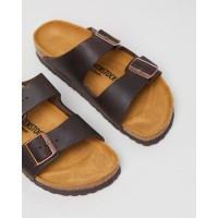 Birkenstock Men's Unisex Arizona Nu Oiled Narrow Sandals Habana Brown For Work most comfortable shopping 1HFN31612