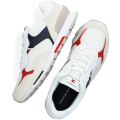 Men's white tommy hilfiger low sneakers retro runner mix Dressy For Sale stores 3M5A2