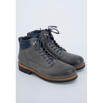 Tommy Hilfiger Men's grey ACTIVE - Lace-up boots For Work in new look shopping 1Q5IM